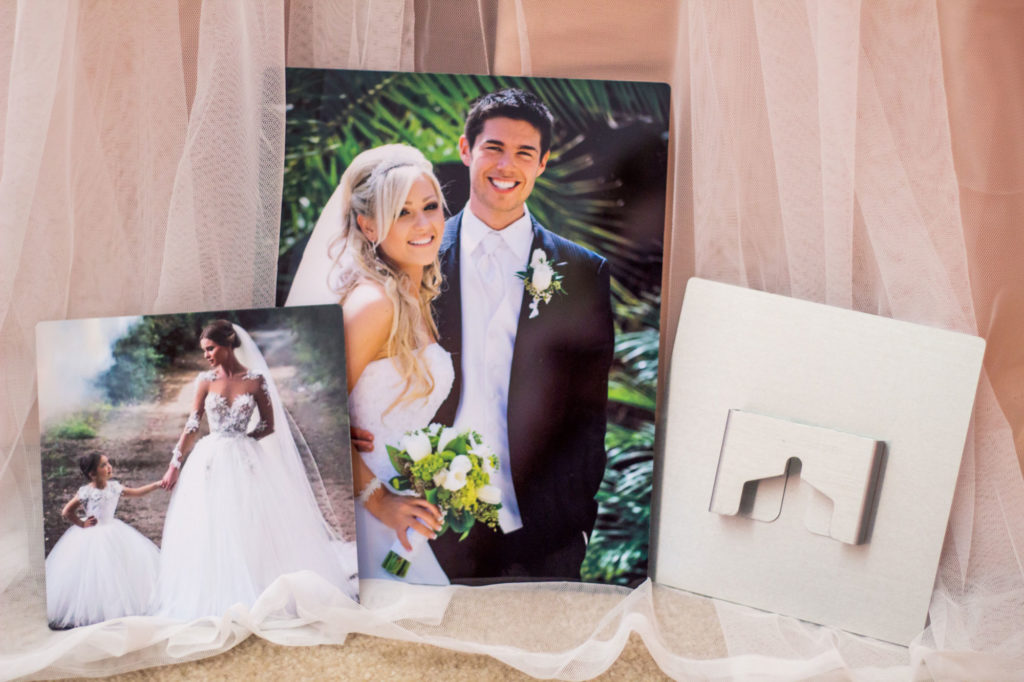 Custom Wall Hanging with Bridal Photography